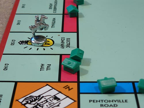 monopoly game board photo