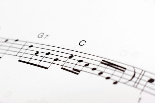 music notes photo
