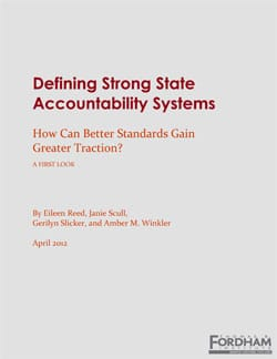 Defining Strong State Accountability Systems