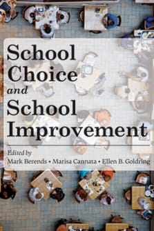 School Choice and School Improvement cover