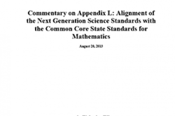 Final Evaluation of the Next Generation Science Standards   The