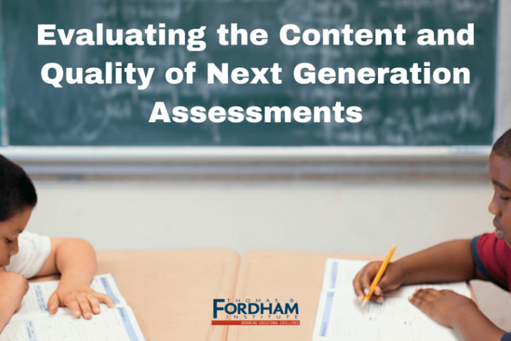 Evaluating the Content and Quality of Next Generation