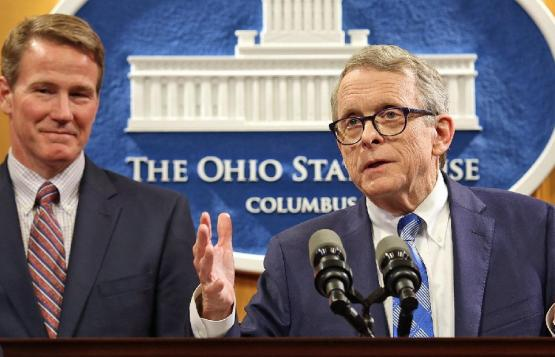 DeWine Husted speech